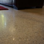Polished concrete floors with under floor heating