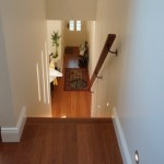 Hallway upstairs looking down