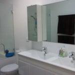 Main Bathroom with Double Sink