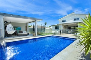 Pool and Outdoor Living Room